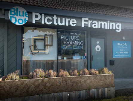 Blue Dot Picture Framing in San Rafael